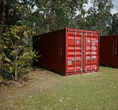 NEAR NEW 20ft GP SHIPPING CONTAINER UNMARKED 2013 BUILD SAVE $900 ON BRAND NEW