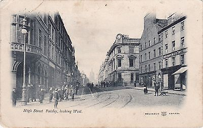 High Street Looking East, PAISLEY, Renfrewshire