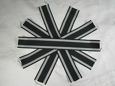 WWI WW1 German Imperial Iron cross Medal replacement Ribbon lot x 5
