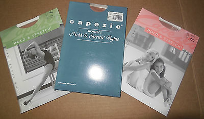 NWT Capezio 145 Stirrup Tights Child/Adult LSN Hold & Stretch Lycra light suntan