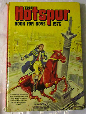 The Hotspur Book For Boys  1976 - Price Clipped