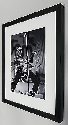 Paul Weller The Jam-High Quality Photo And Framing Best Quality on Ebay