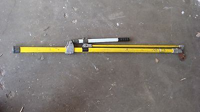 Hastings 11 055 Cutter Hot Stick 5 ' Lever Handle Wire Cutter Tool