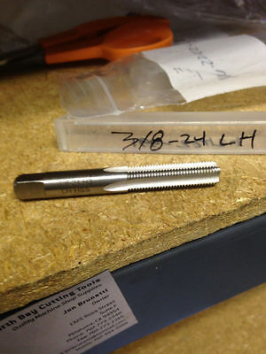 3/8-24 Gh3 Left Hand 4 Flute High Speed Steel Bottom Tap
