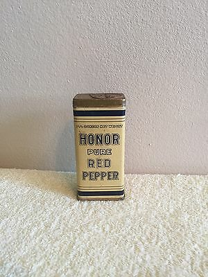 Vintage Honor Spice Tin Full Of Pure Red Pepper Duluth