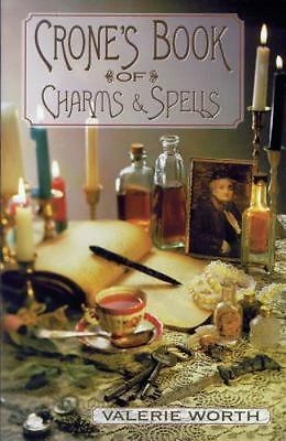 The Crone's Book of Charms and Spells by Valerie Worth (2002, Paperback,...
