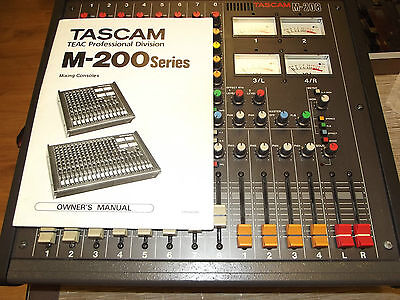 TASCAM M-208 Vintage Teac Mixer with owners manual