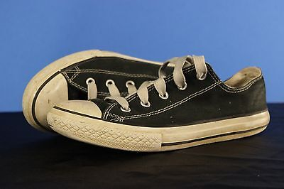 Converse All Stars Sneakers Shoes Youth Sz 3 Boys Black White