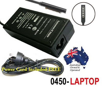 Adapter for Microsoft Surface Pro 1 & 2 Power Supply Battery Charger 12V 3.6A