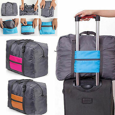 Luggage Travel Bag Packing Cubes Waterproof Nylon Folding Luggage Zipper Outdoor
