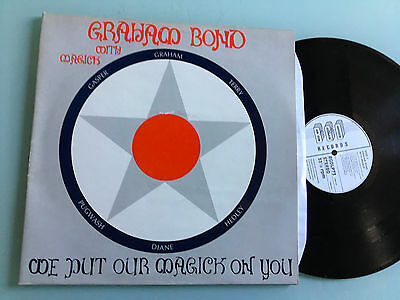 LP  NM   Graham Bond With Magick – We Put Our Magick On You