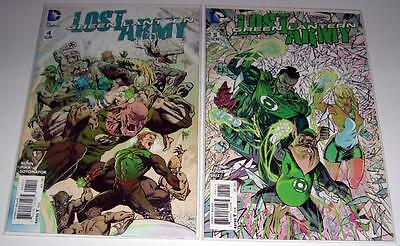 Lot of (2): Green Lantern The Lost Army #4 & #5 DC Comics