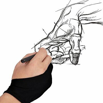 Huion Professional Free Size Anti-Fouling Glove for Art Drawing Animation Design