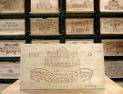 Frontbrett- Chateau Giscours Margaux 1993