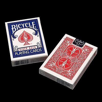 Bicycle Paper Playing Cards Poker Rider Standard Free Shipping - One Deck MP