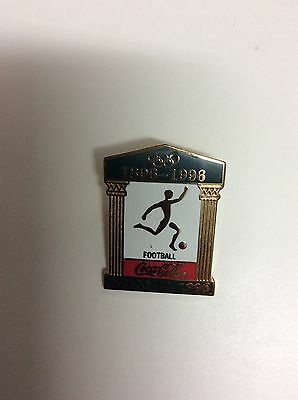 Atlanta Olympic Games 1996 Coke Sports Pictogram Temple Pin: Football