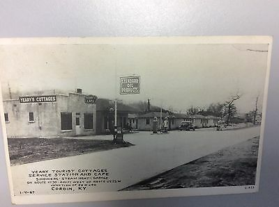 Standard Oil Service station at Yeary Tourist Cottages in Corbin, Kentucky