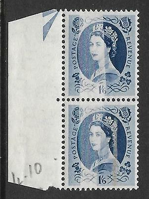 Sg 531 1/6 Tudor Wilding with variety - Dr Blade Flaw UNMOUNTED MINT/MNH