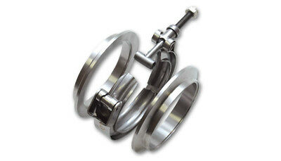 VIBRANT PERFORMANCE 2-1/2 in OD Tubing Stainless V-Band Clamp Assembly P/N 1490
