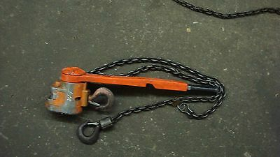 Cm (Possibly 640) Chain Hoist Come Along    Used Good Shape 1 1/2  Ton