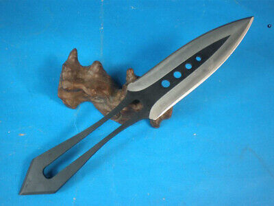 Hot! Sharp Full Tang Dagger double blade outdoor survival Hunting bowie Knife