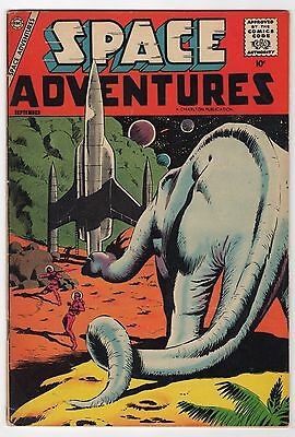 Space Adventures #25  (Charlton Comics 1958)     FN