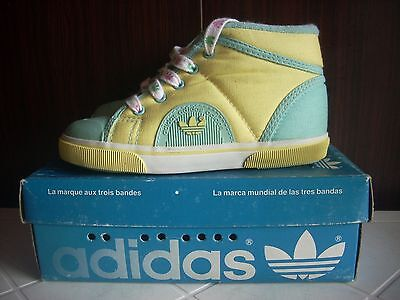 Deadstock Adidas Ortano 39978 Running Sneakers Trainers 70 Casuals 80 27 Kid Vtg