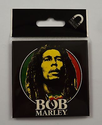 Collectable BOB MARLEY Fridge Magnet - Classic Logo - Officially Licensed. NEW!