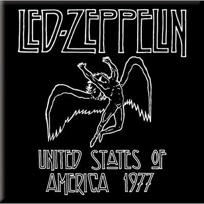 Collectable Led Zeppelin Fridge Magnet - Classic Logo - Officially Licensed NEW