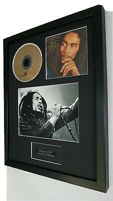 Bob Marley 'Legend' Framed Original CD- Plaque-Certificate-