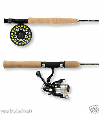 NEW  Portabl Fishing rod - Encounter Spin/Fly Combo Outfit -Free Shipping