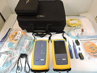 Fluke CFP-QUAD CertiFiber Pro Quad Optical Loss Test Set - 90 Day Warranty