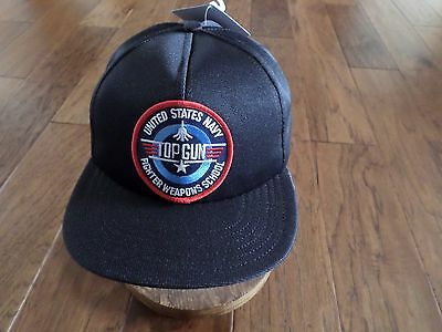 be09e1a74e7191 U.s Navy Top Gun Fighter Weapons School Hat Official Military Ball Cap Usa  Made