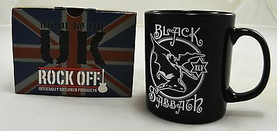 Officially Licensed Boxed Black Sabbath Ceramic Mug Music Gift NEW! Ozzy