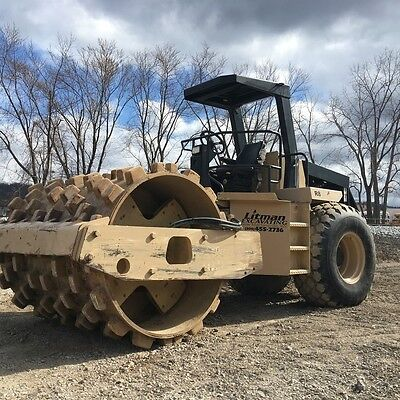 2000 Ingersoll-Rand SD115D Pro Pac Vibratory Smooth Drum Roller Padfoot Shell