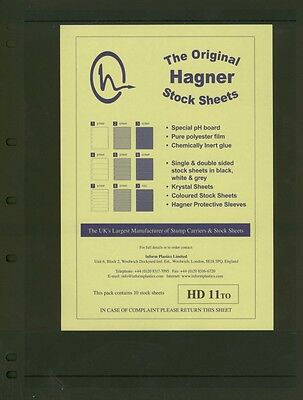 Hagner Double Sided Stamp Album Stock Pages