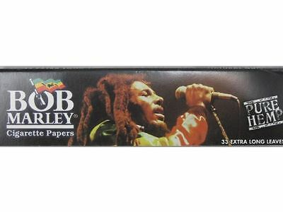 Bob Marley king size Rolling papers made from pure hemp fibers (1-10pcs)