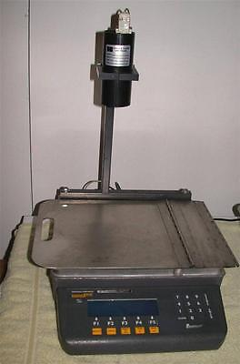 Weigh Tronix model 830 Table Top Bench Scale 50lb Quartzell accuracy free ship