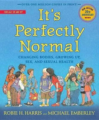 NEW It's Perfectly Normal By Robie H Harris Paperback Free Shipping