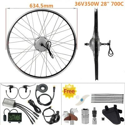 "Retrofit Kit 36V350W 700C 28"" Rear Motor Freewheel E-Bike Hub Conversion Kit"