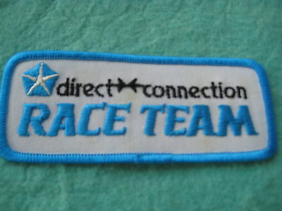 "Direct Connection Race Team  Patch 4 7/8 "" X 2"""
