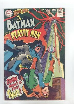 Brave and the Bold #76 FN Neal Adams, Batman, Plastic Man, Robin, Two-Face