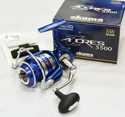 OKUMA AZORES 5500 (CASTING / JIGGING) Spinning Reel From Japan