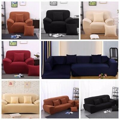 EASY Stretch Couch Sofa Lounge Covers Recliner 1 2 3  Seater Dining Chair Cover