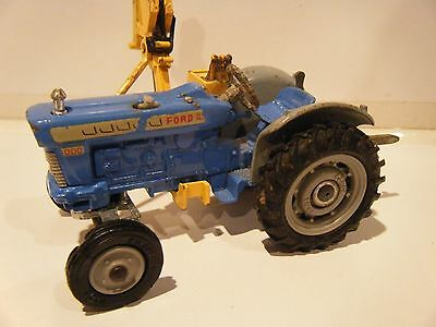Corgi Ford Super Major 5000 Tractor with Side Arm 1/43