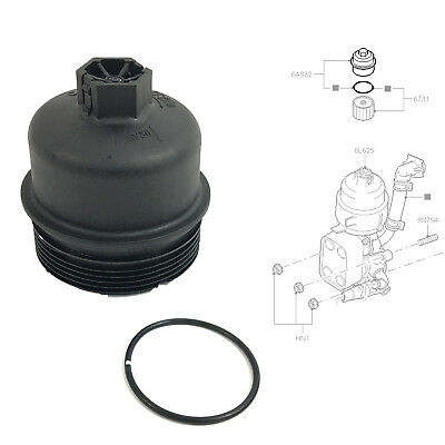 OIL FILTER HOUSING CAP FITS DUCATO 2.2 JTD, RELAY, BOXER 2.2 HDi 2006 ON 1103.L7