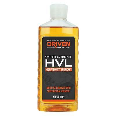 Driven Racing Oil High Viscosity Lubricant Lube HVL - 8oz Bottle - DHVL