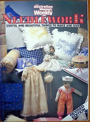 THE AUSTRALIAN WOMEN'S WEEKLY NEEDLEWORK REVISED EDITION book / magazine