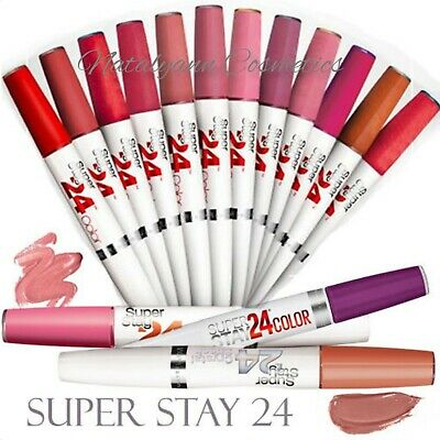 Maybelline SuperStay 24HR Bold ,Matte or Shimmer  LipColour Lipstick  NEW BOXED