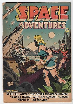Space Adventures #8  (Charlton Comics 1952)   Fair